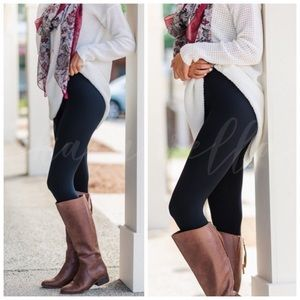 ❄️ Black fleeced lined leggings ❄️